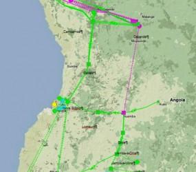 Transporte de Energia Eléctrica de interligação dos Sistemas Centro e Sul – Angola